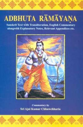 Adbhuta Ramayana: Sanskrit Text with Transliteration, English Commentary