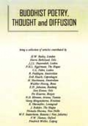 Buddhist Poetry, Thought and Diffusion (In 2 Volumes)