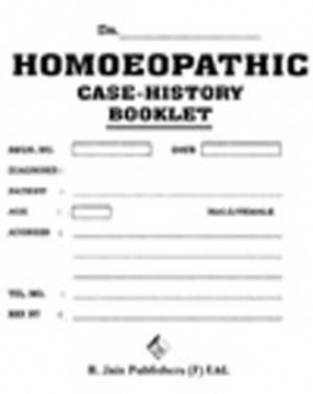 Homeopathic Case History Booklet