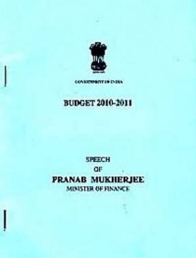 Budget Documents, 2010-2011