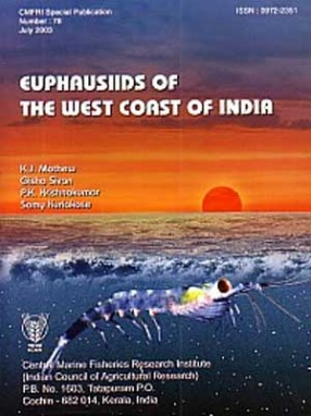Euphausiids of the West Coast of India