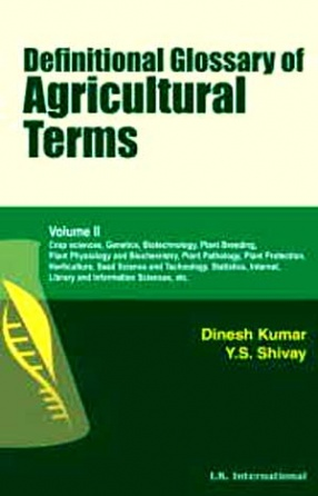 Definitional Glossary of Agricultural Terms (In 2 Volumes)