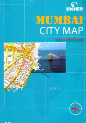 Eicher Mumbai City Map: Includes Thane Bhayandar