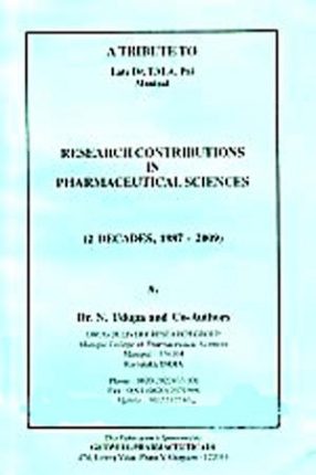 Research Contributions in Pharmaceutical Sciences