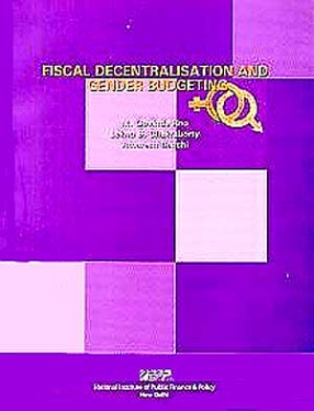Fiscal Decentralisation and Gender Budgeting