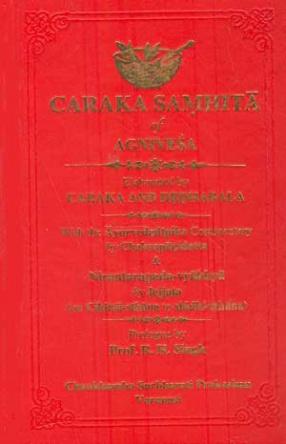 Caraka Samhita of Agnivesa Elaborated by Caraka and Dradhabala (In 2 Volumes)