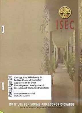 Energy Use Efficiency in Indian Cement Industry: Application of Data Envelopment Analysis and Directional Distance Function