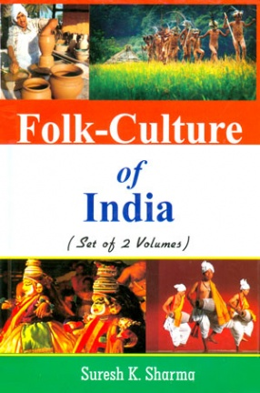 Folk-Culture of India (In 2 Volumes)