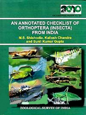 An Annotated Checklist of Orthoptera (Insecta) from India