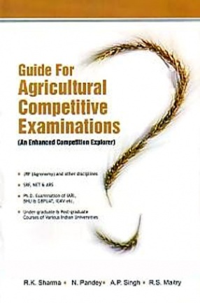 Guide for Agricultural Competitive Examinations: An Enhanced Competition Explorer