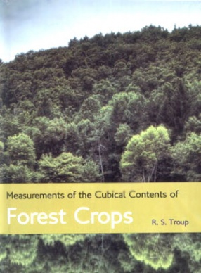 Measurements of the Cubical Contents of Forest Crops