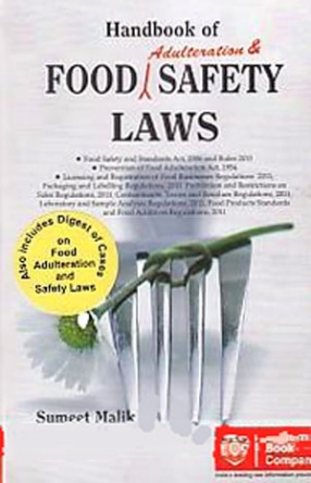 Handbook of Food Adulteration and Safety Laws