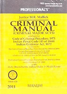 Criminal Manual: Criminal Major Acts