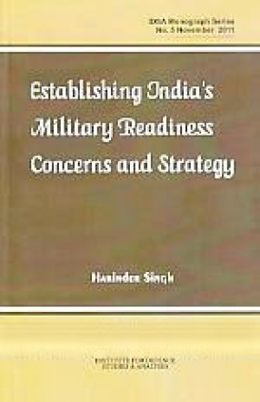 Establishing India's Military Readiness Concerns and Strategy