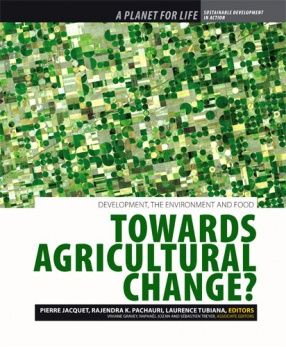 A Planet for Life: Towards Agricultural Change