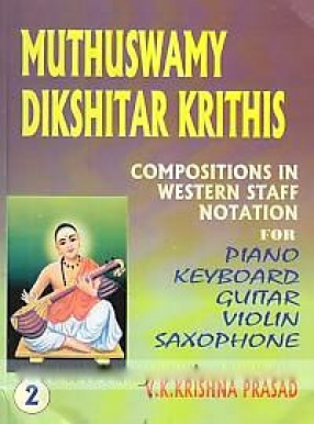 Compositions of Muthuswamy Dikshitar in Western Staff Notation 2