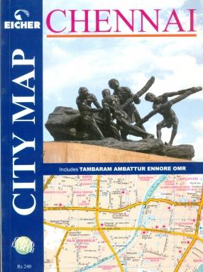 Eicher Chennai City Map: Includes Tambaram, Ambattur, Ennore