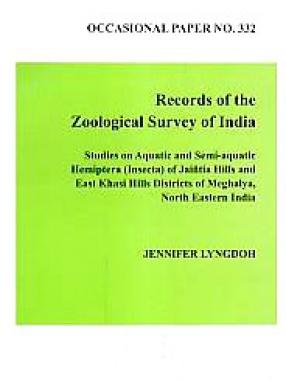 Studies on Aquatic and Semi-Aquatic Hemiptera (Insecta) of Jaintia Hills and East Khasi Hills Districts of Meghalaya, North Eastern India