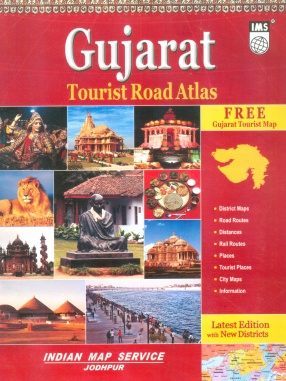 Gujarat Tourist Road Atlas & State Distance Guide