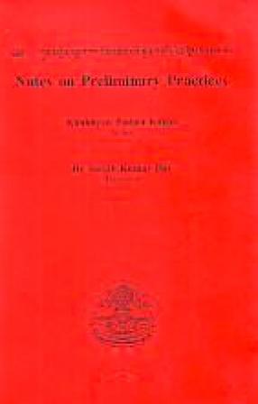Kun Mkhyen Padma Dkar Po's Mdzad Pa'I Snon 'Gro's Zin Bris Bzugs So = Notes on Preliminary Practices