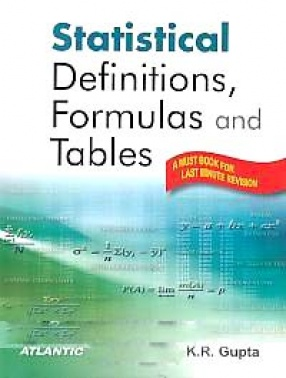 Statistical Definitions, Formulas and Tables