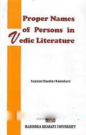Proper Names of Persons in Vedic Literature