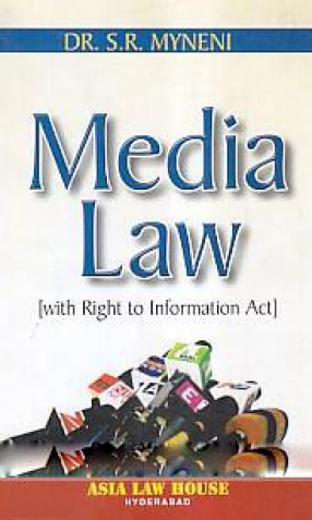 Media Law: With Right to Information Act
