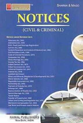 Notices: Civil & Criminal