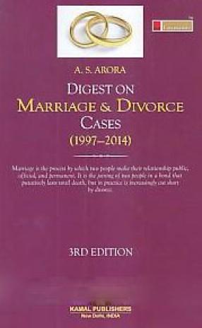 Lawmann's Digest on Marriage & Divorce Cases (1997-2014)