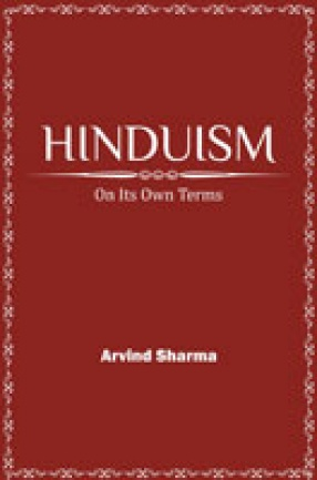 Hinduism on Its Own Terms