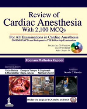 Review of Cardiac Anesthesia With 2100 MCQs
