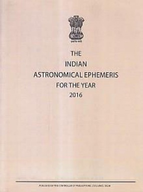 The Indian Astronomical Ephemeris for the year 2016