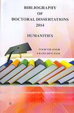 Bibliography of Doctoral Dissertations: Humanities, 2014
