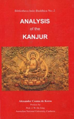 Analysis of The Kanjur