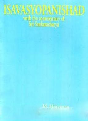 Isavasyopanishad: With the Commentary of Sri Sankaracharya