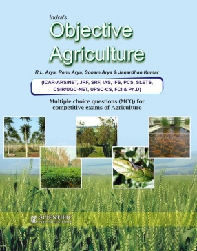 Indiras Objective Agriculture: MCQ for Competitive Exam of Agriculture