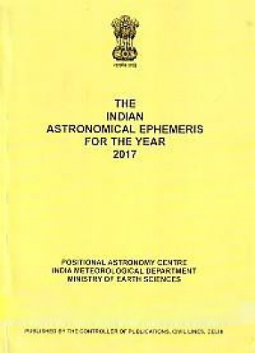 The Indian Astronomical Ephemeris for the Year 2017