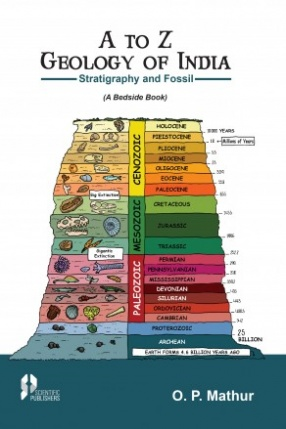 A To Z Geology of India: Stratigraphy And Fossil: A Beside Book
