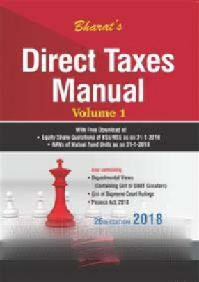 Bharat's Direct Taxes Manual (In 3 Volumes)