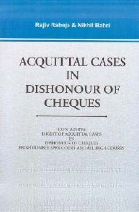 Acquittal Cases in Dishonour of Cheques