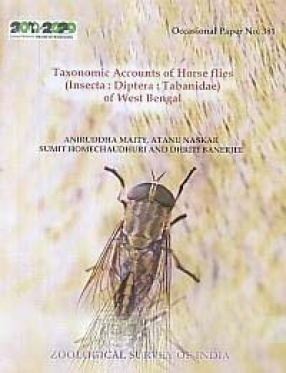 Taxonomic Accounts of Horse Flies: Insecta: Diptera: Tabanidae of West Bengal