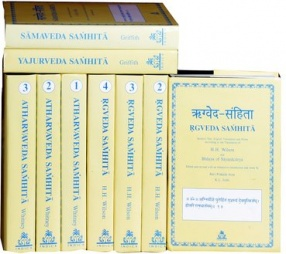 The Four Vedas: Rgveda, Samaveda, Yajurveda, Atharvaveda: Sanskrit Text with English Translation  (In 9 Volumes)