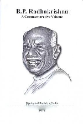 B.P. Radhakrishna: A Commemorative Volume