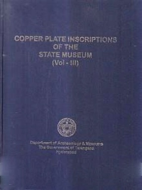 Copper Plate Inscriptions of The State Museum, Volume III