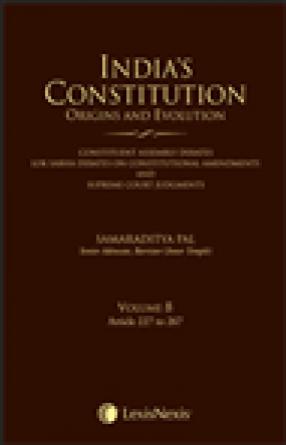 India's Constitution: Origins and Evolution, Volume 8