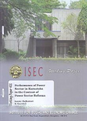 Performance of Power Sector in Karnataka in the Context of Power Sector Reforms