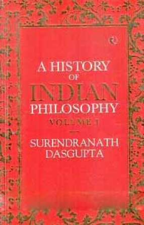 A History of Indian Philosophy (In 3 Volumes)