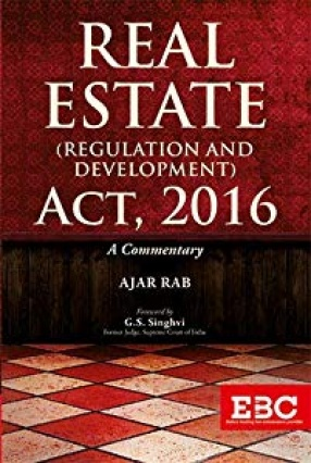 Real Estate: Regulation and Development Act, 2016