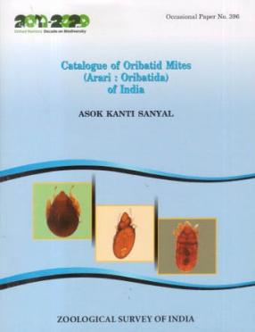 Catalogue of Oribatid Mites (Acari: Oribatida) of India