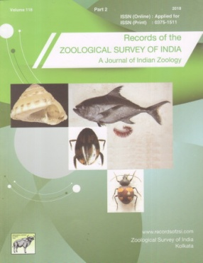 Records of the Zoological Survey of India: A Journal of Indian Zoology (Volume 118, Part 2)